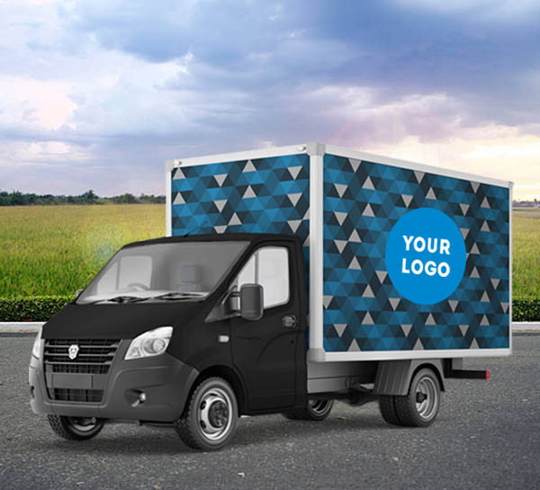 Vrachtwagenreclame
