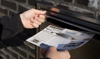 huis-aan-huis mailing verzendservice door reclamebureau