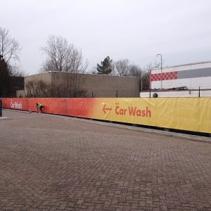 XXL spandoek shell carwash