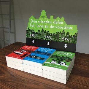 POS materialen uitgeverij boeken bedrukken