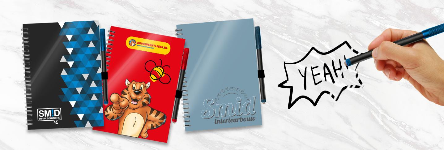 Uitwisbare notitieboeken: oneindig schrijven terwijl u papier bespaart