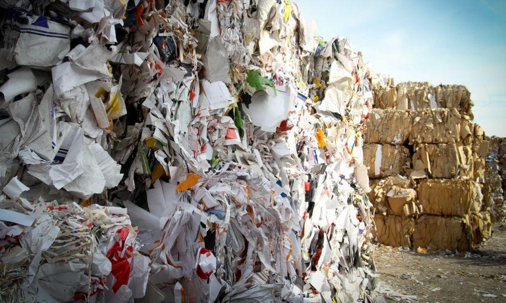 Afval papier